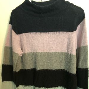 Fuzzy Jessica Simpson Maternity sweater